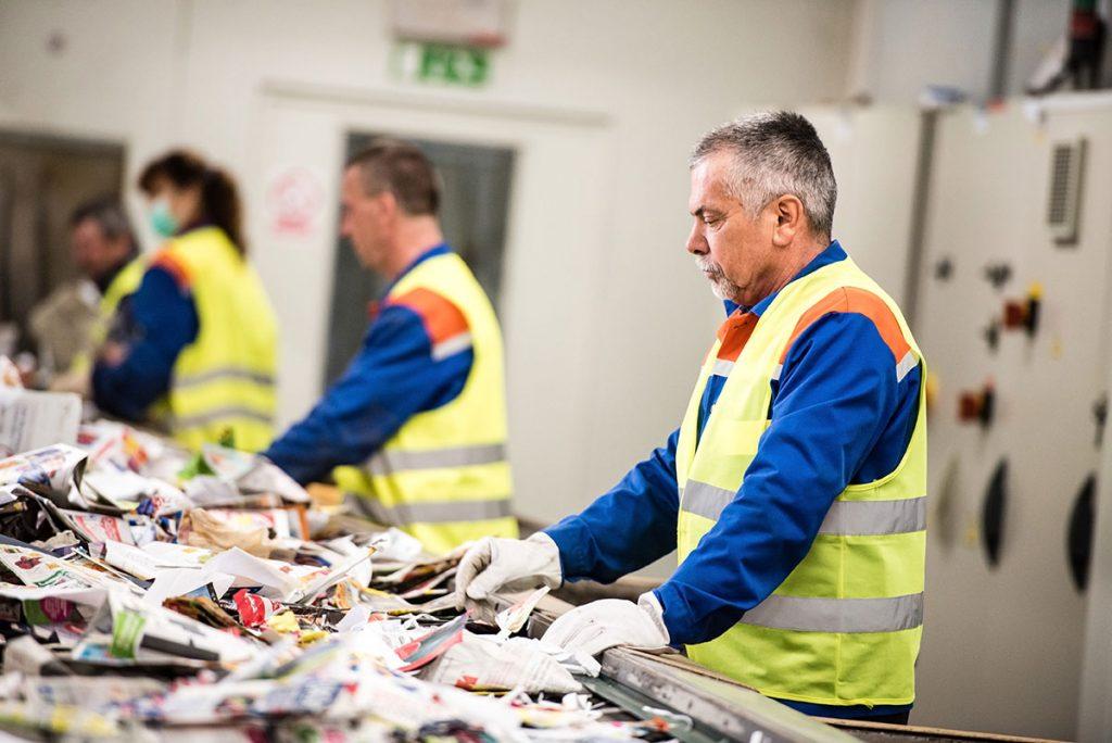 Recyclage et triage de vos matériaux